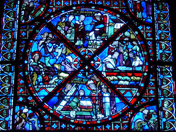 Cathedrale de Bourges - Vitraux