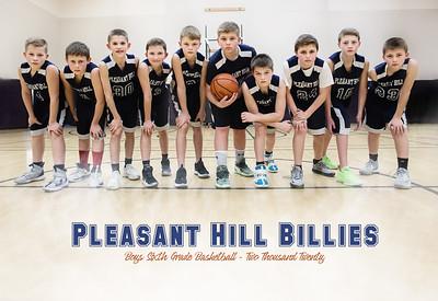 Pleasant Hill Billies Boys 6th Grade