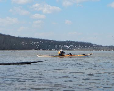 Aquia Creek Launch on to Potomac 3-15-14