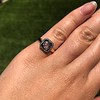 .53ctw Rose Cut Halo Ring, by Single Stone 44
