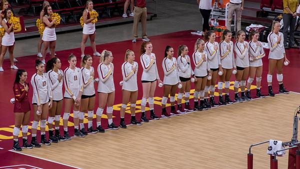 ISU Volleyball vs South Dakota 09/03/19