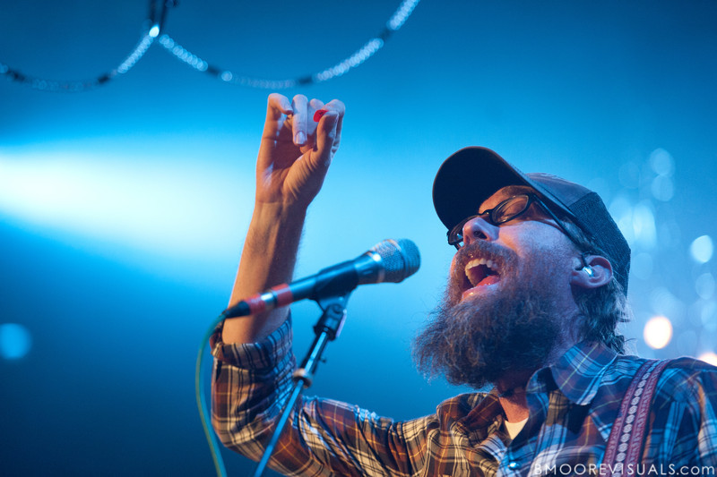 David Crowder of David Crowder Band performs on November 11, 2011 at House of Blues in Orlando, Florida