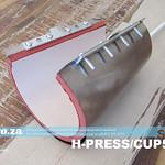 SKU: H-PRESS/CUP500, 500ml Cone Shaped Cups Heading Pad Attachmentfor Heatware Heat Press