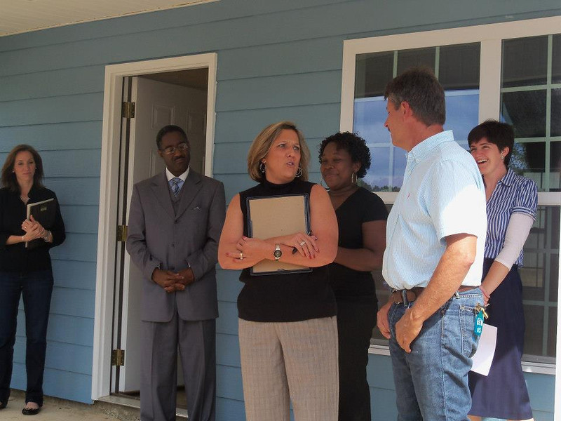 Kim Roberts thanks House 28 captain Donnie Gillenwaters.