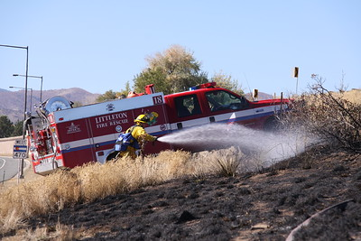 C-470 & Platte Canyon Grass Fire