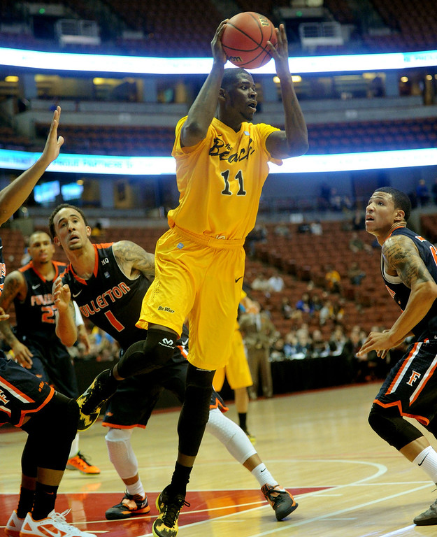 . <b>James Ennis </b> <br />Forward, 6-7, 210. Averaged 16.5 points, 6.7 rebounds and 1.8 steals as a senior last year at Long Beach State. High-energy player who can defend several positions and could provide an athletic boost for a running team. Could be this year\'s Jimmy Butler.  03-14-2013 - (Sean Hiller/Press Telegram)