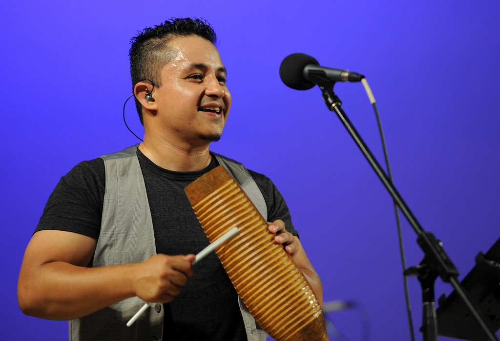 . Adonis Puentes and the Voice of Cuba orchestra perform at the Redlands Bowl on Friday, July 11, 2014 in Redlands, Ca. (Micah Escamilla/Redlands Daily Facts)
