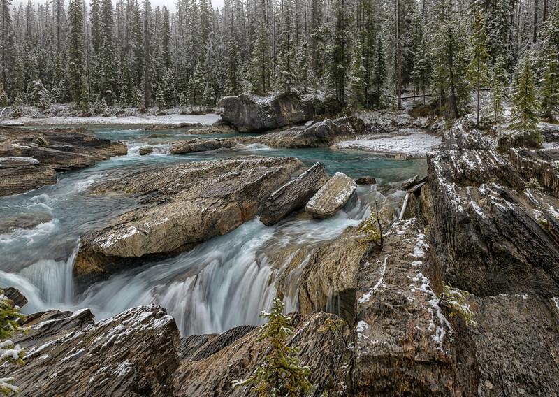 The Kicking Horse River Chute