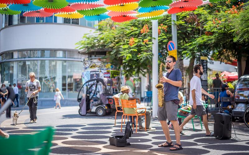Tel Aviv Sax Man