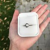 .90ct Late Victorian Antique Cushion Cut Collet Component 5
