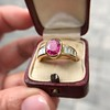 3.21ctw Burma N-Heat Ruby Ring, by Mellerio 25