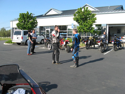 Dual Sport Ride in the North Bay 4/08