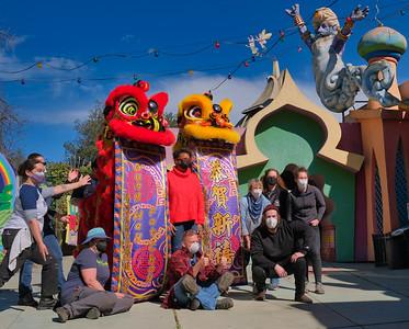 Chinese New Year Visits Fairyland