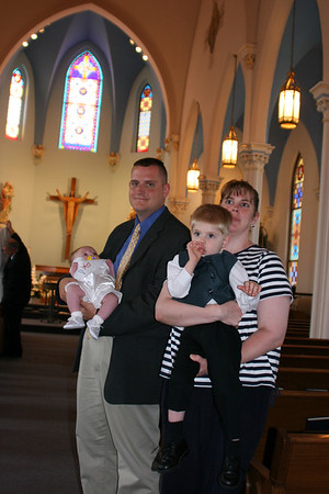 2005 July Alex Baptism