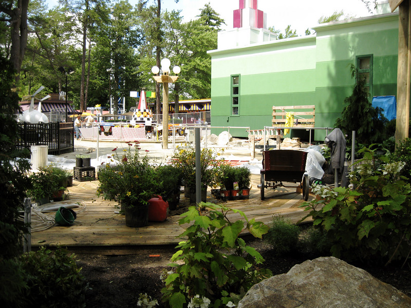 More shots of the Kiddie Land construction.