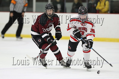 Hockey St George's at Abbey on 1/14/19