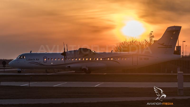 Lübeck Air / ATR 72-500 / SE-MDB