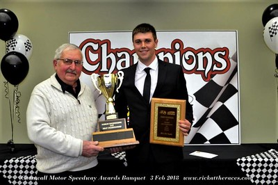 Cornwall Motor Speedway 2017 Banquet - 2/3/18 - Rick Young