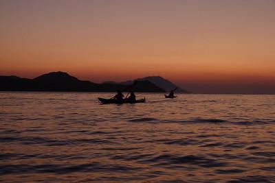 July 7 - Klima sunset