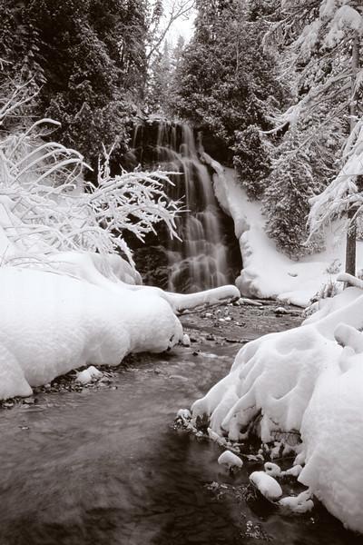 Sentier de la chute - Parc national Forillon, Québec