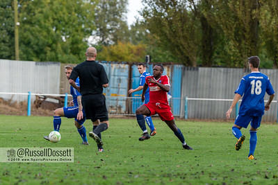 Boston Town vs Rugby Town 0-3