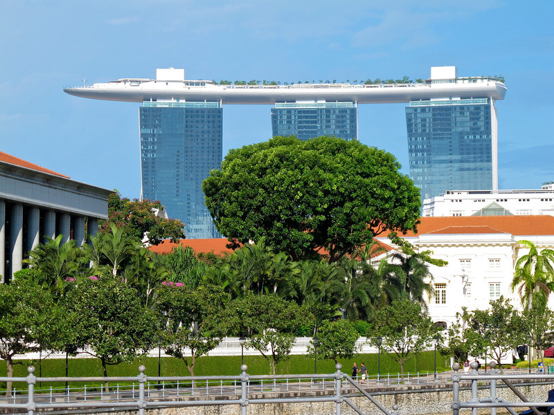 Singapore - July 2010 Marina Bay Sands resort