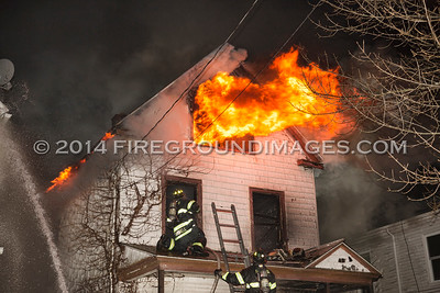Judson Ave. 2nd Alarm (New Haven, CT) 12/8/14