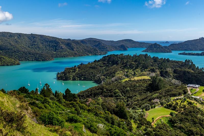 Blick Richtung Whangaroa Bay