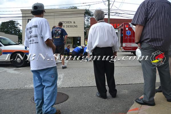 Bellmore F.D. Ped Struck Merrick Rd & Sunrise Ave 8-16-11