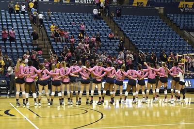 33956 WVU Volleyball vs. Kansas State October 2017