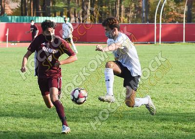 Sharon - Oliver Ames Boys Soccer 10-23-20