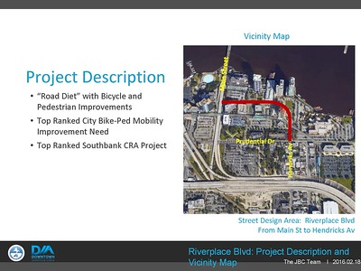 Riverplace Boulevard Bicycle & Pedestrian Improvements Project