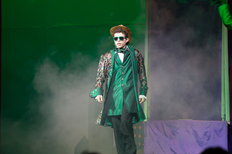 """""""So You Wanted to Meet the Wizard"""" -- """"The Wiz"""", Montgomery Blair High School spring musical, March 26, 2017"""