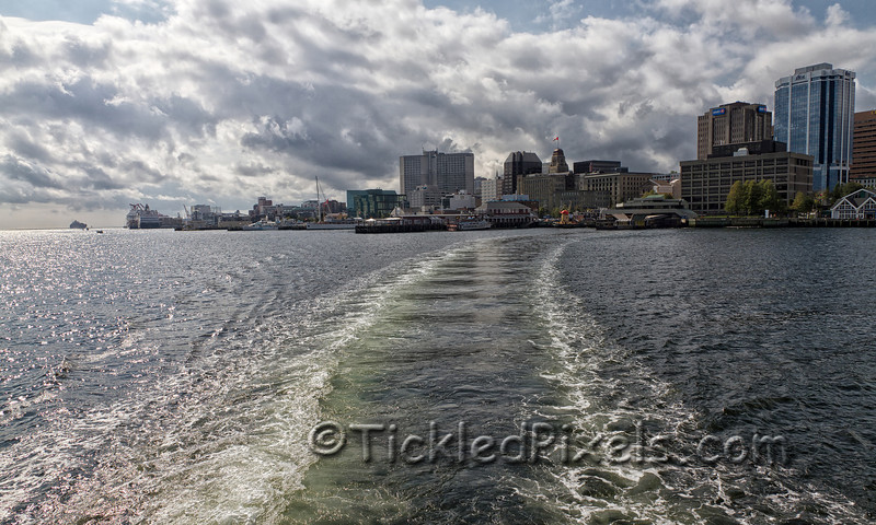 Leaving Halifax on the Dartmouth Ferry