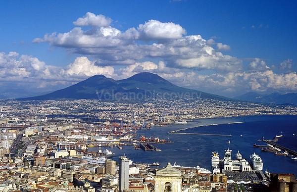 Vesuvius volcano, Italy