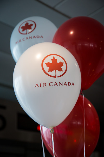 5-18-17 Air Canada Inaugural to Vancouver Gate Event