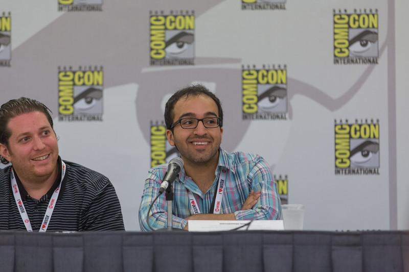 2013 San Diego Comic Con - Valiant Panel