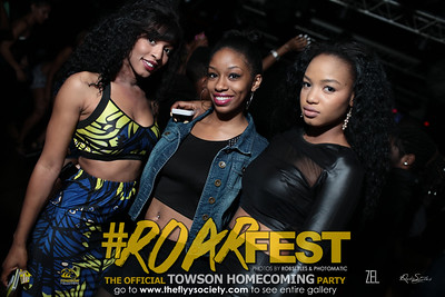 ROARFEST 2014 TOWSON HOMECOMING OCT 30th