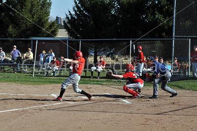 La Moille-Ohio Baseball vs Leland, April 16, 2009