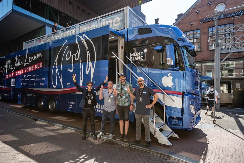 2018_06_29, Amsterdam, Bus, Come Together Amsterdam, Dave Clarke, Exterior, Matt Reich, Melkweg, Names, NL, Pietro Rossi