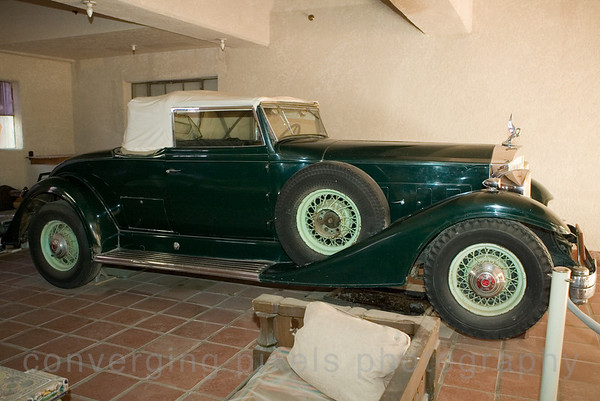 """Buick"" Scotty's Castle."