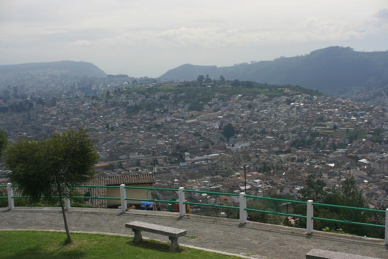 View from El Panecillo Quito
