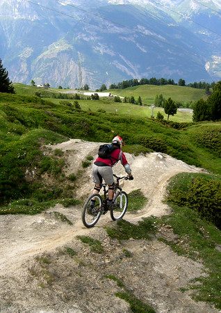A Day's Riding in Verbier
