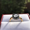 .53ctw Rose Cut Halo Ring, by Single Stone 24