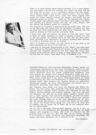 Exhibition-Wuppertal Barmen Museum June-July 1948