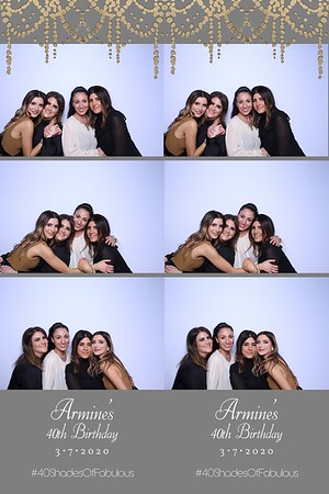 Armine's 40th Birthday (SkinGlow Booth)