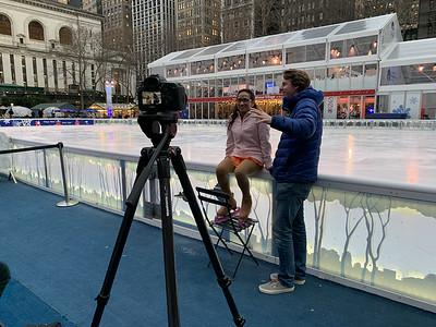 2020 Bryant Park Skating Showcase