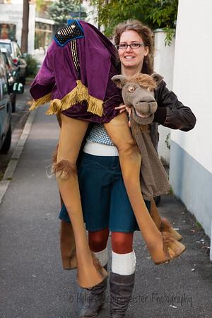 Ein Kamel in Esslingen