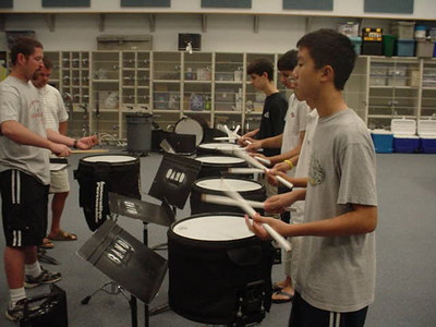 Drumline Camp - 24 Jun 2005