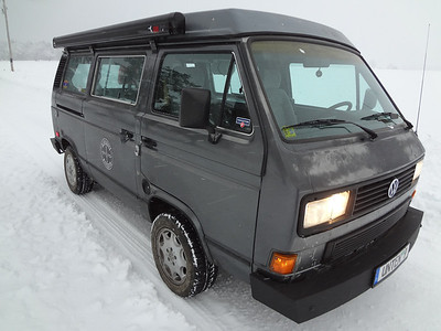 Westy Winter Storm Drive 1-5-14